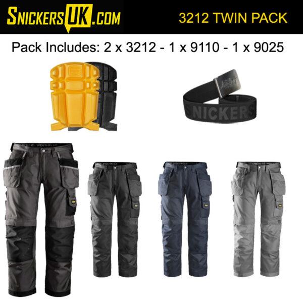 Snickers Knee Pads Bulk Pack | 9110 Craftsmen's Knee Pads