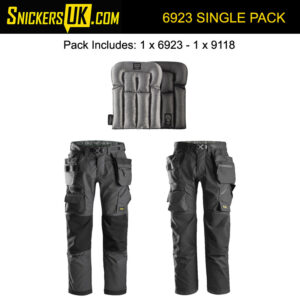 Snickers FlexiWork FloorLayers Trousers Pack A | 6923 Trousers | 9118 Pads